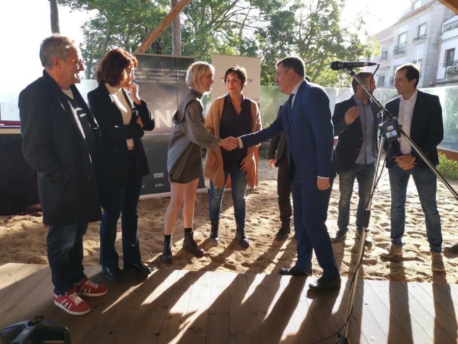 """Inicia en Bueu el rodaje de la película """"Ons"""""""