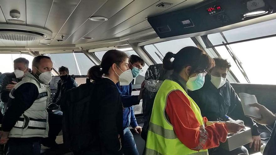 """Armón entrega el ferry rápido """"Eleanor Roosevelt"""" a Baleària"""