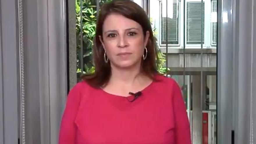"""El mensaje de la asturiana Adriana Lastra a Rocío Carrasco por su documental: """"Gracias por tu valentía y fortaleza"""""""