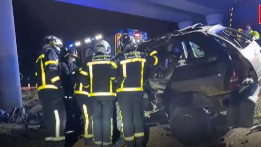 Muere un hombre en un accidente de tráfico en Madrid