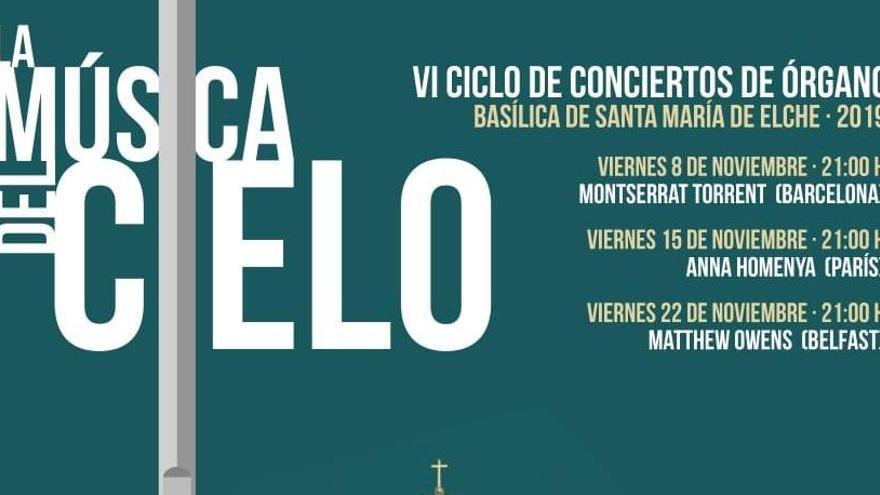 Repertorio de lujo para el nuevo ciclo de conciertos de órgano en Elche