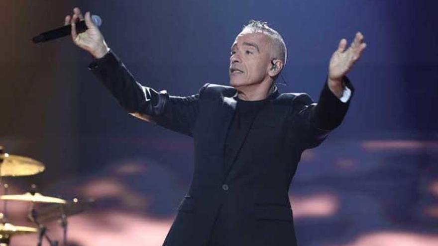 'OT 2018': El detalle de la actuación de Eros Ramazzotti que llama la atención