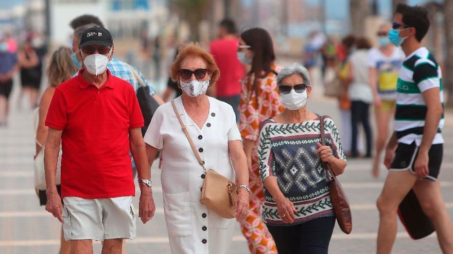Sanitat registra 332 nuevos casos de coronavirus y un fallecimiento en la Comunitat Valenciana