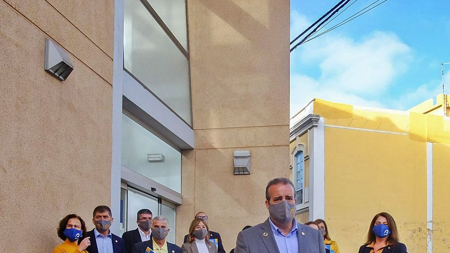 Robaina pone el acento en la equidad y sostenibilidad en su programa electoral