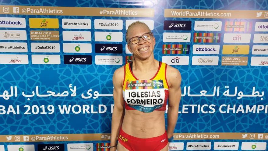 Adi Iglesias, plata en 100 metros en el Mundial; Vila salta hoy