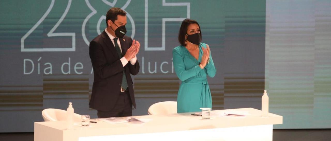 Las imágenes de la entrega de las Medallas de Andalucía y título de Hijo Predilecto
