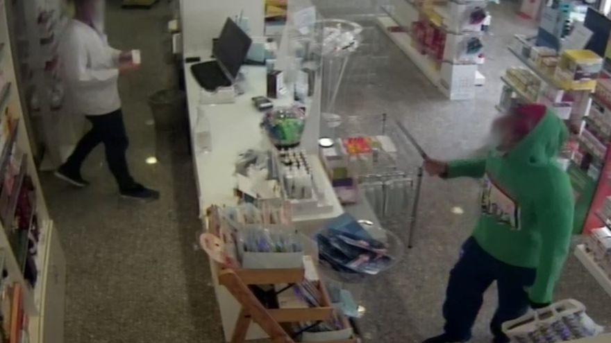 Detenido por cinco atracos en farmacias en tan solo siete días