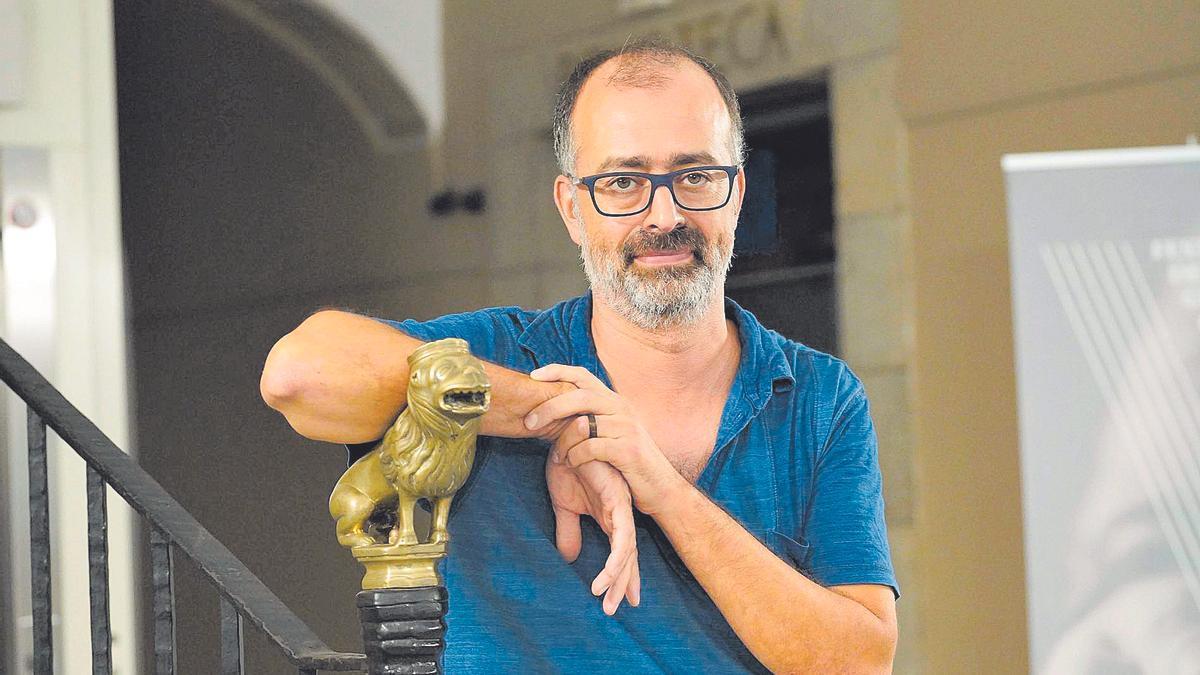 El dramaturg gironí Ferran Joanmiquel