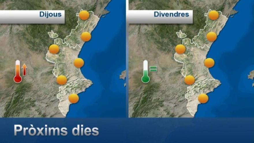 El tiempo en Valencia: Lluvias y tormentas para hoy