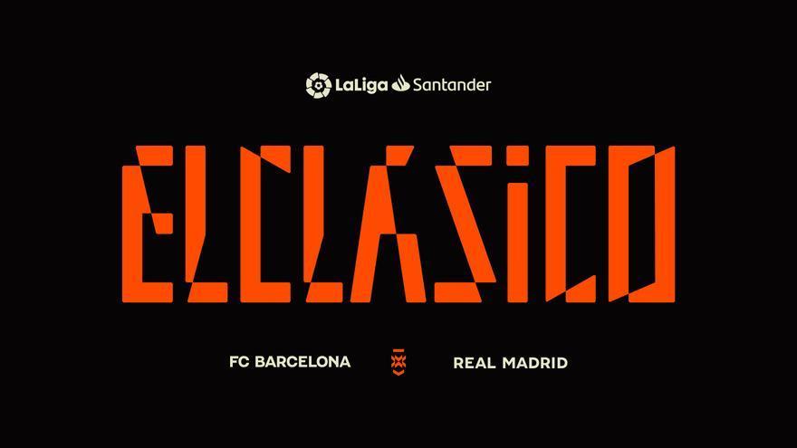LaLiga crea un logotipo para los partidos entre el Real Madrid y el Barça
