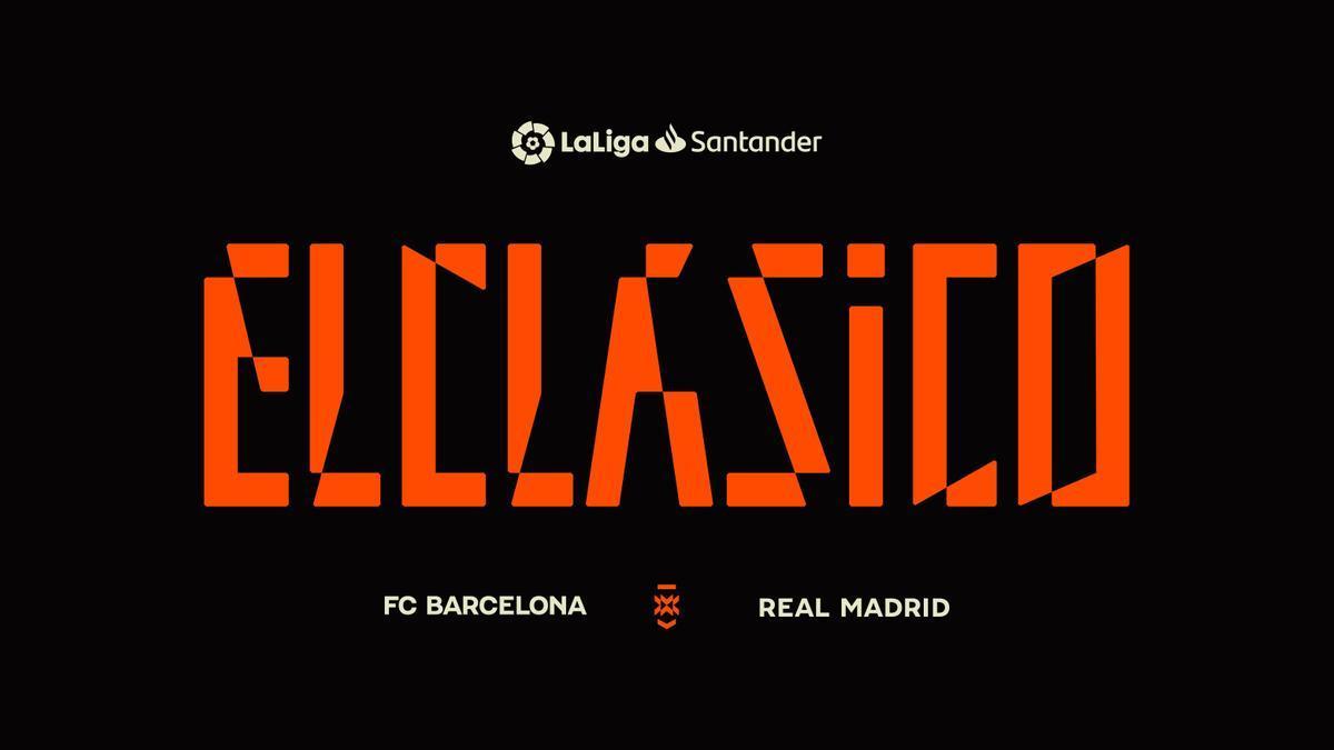 LaLiga crea un logotipo e identidad de marca para los clásicos.