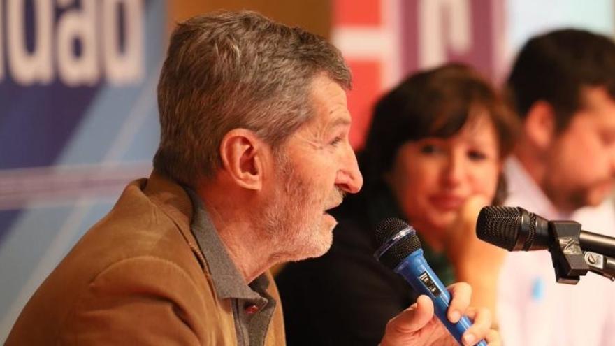 """Julio Rodríguez defiende la """"lealtad"""" en Podemos"""