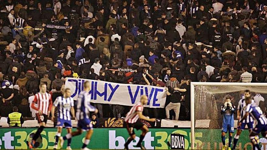 A juicio 82 ultras del Atlético y Deportivo por la pelea en la que murió Jimmy