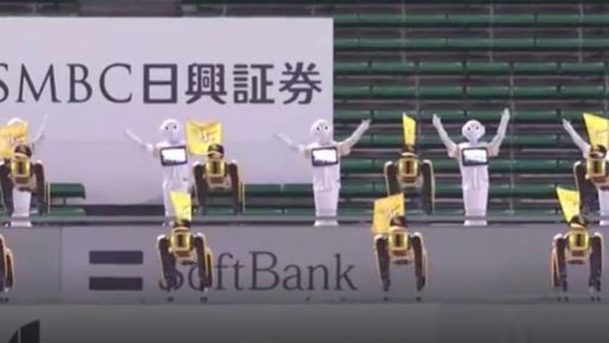 Japón instala robots, espectadores en recortes de cartón y muñecos como público durante los JJ.OO. de Tokio