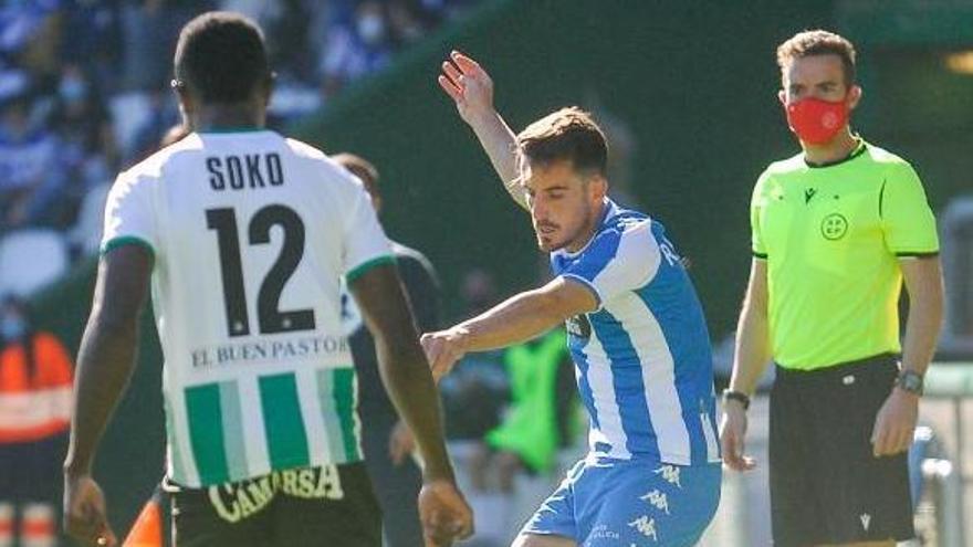 """Rafa de Vicente: """"Queríamos ganar, pero puntuar en El Sardinero no está nada mal"""""""