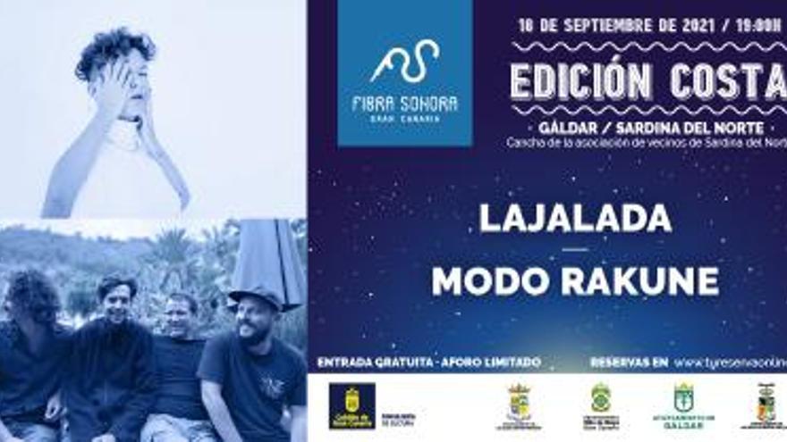 Concierto de Lajalada y Modo Rakune