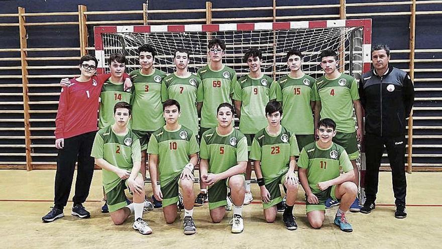 El Handbol Marratxí logra la Liga de cadetes de Mallorca