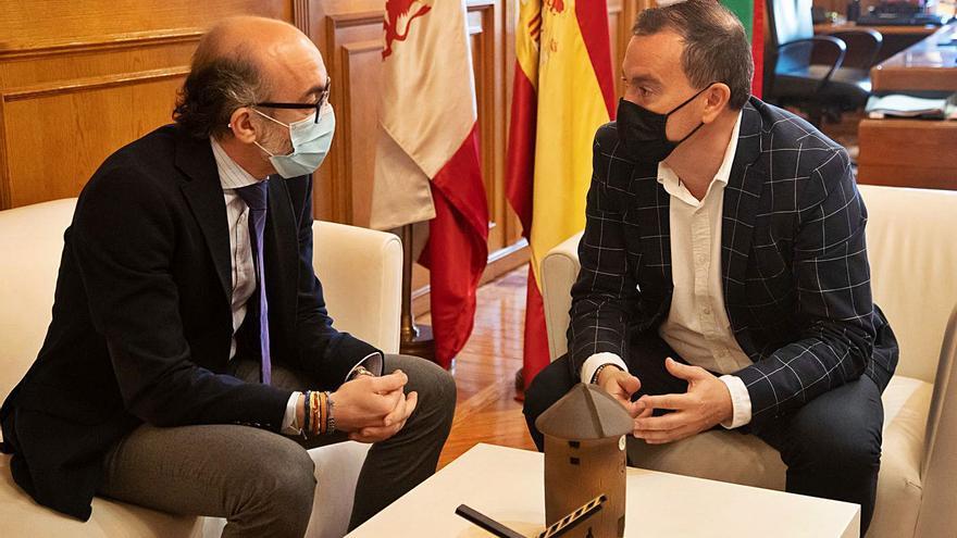 La Junta y la Diputación de Zamora actuarán para aumentar el atractivo de Castrotorafe