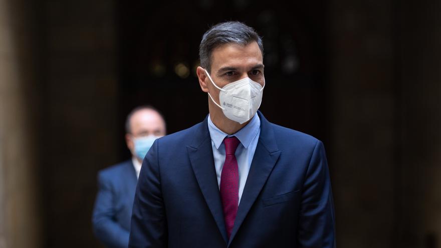 Pedro Sánchez ya se encuentra en La Palma