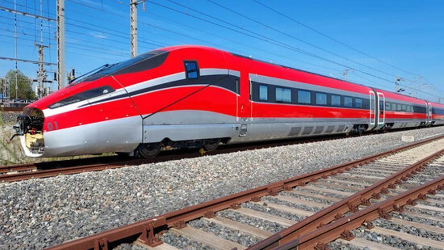 El primer tren d'ILSA d'alta velocitat començarà les proves entre Figueres-Perpinyà aquesta setmana