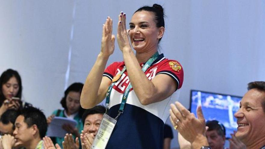 """Isinbayeva: """"Aquí termina mi carrera como atleta profesional"""""""