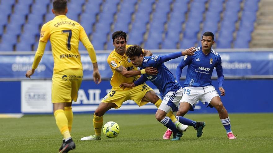 Uno por uno del Real Oviedo - Málaga CF