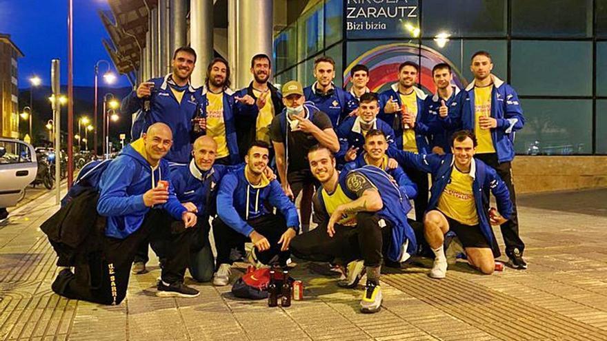 El Sarrià guanya a Zarautz i acarona la permanència