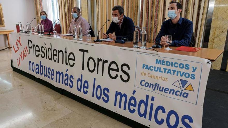 """Los médicos canarios irán a huelga ante la OPE """"injusta"""" del SCS"""