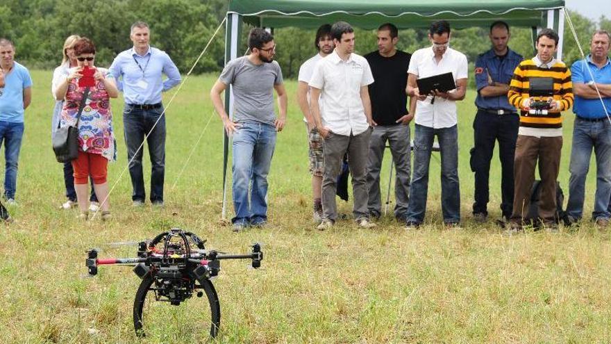 El centre de drons de Moià guanya espai aeri per volar més alt i més lluny