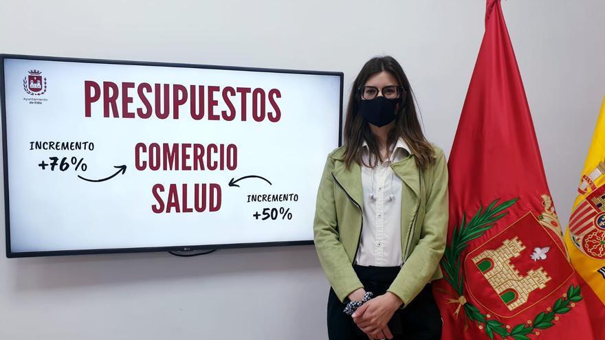 Elda incrementa la partida de Comercio y Mercado hasta los 185.500€