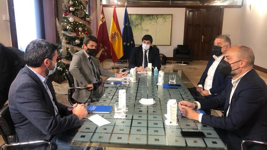 La Diputación y Murcia acuerdan una estrategia común para defender el Tajo-Segura
