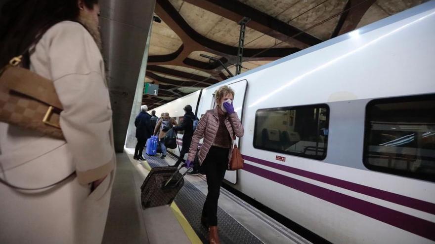 El tren se lleva cuatro de cada diez euros de la inversión del Estado en Asturias