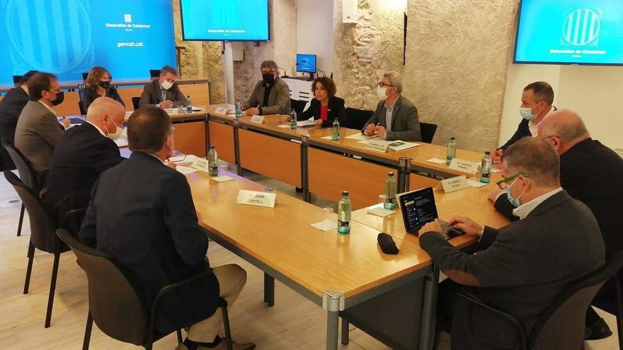 El Govern i l'empresariat gironí es reuneixen per planificar el futur de la Formació Professional a la província
