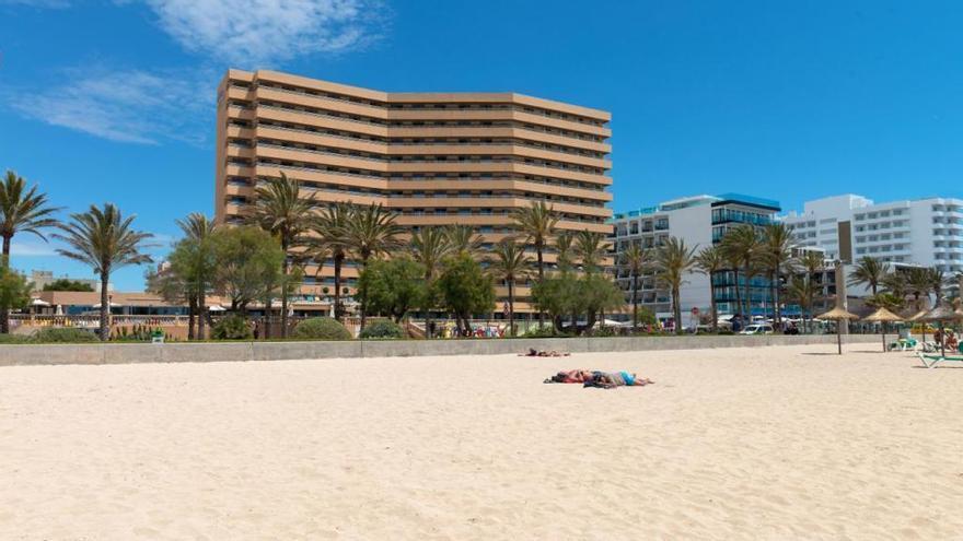 Feuer im Hotel Pil.lari an der Playa de Palma