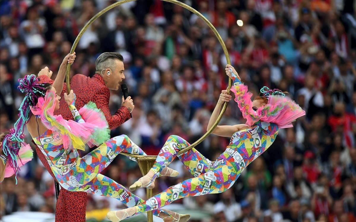 Inauguración del Mundial de Rusia