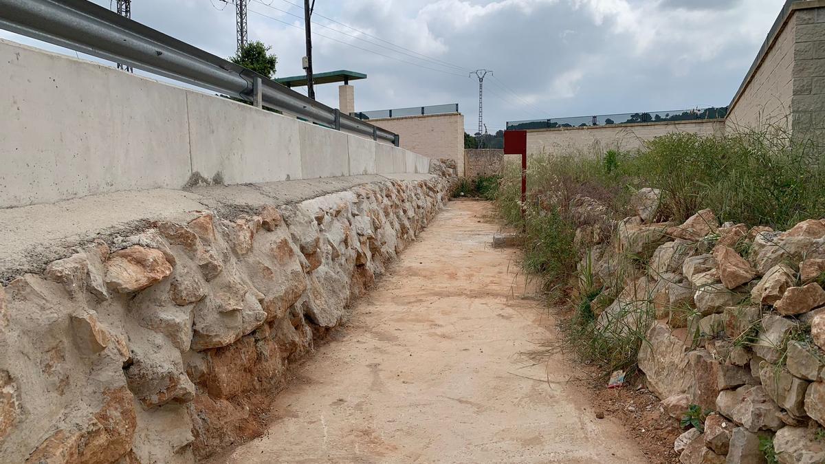 Alzira finaliza las obras del Barranc Fosc