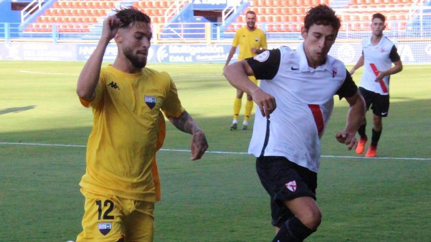 Vistoso empate entre Extremadura y Sevilla Atlético
