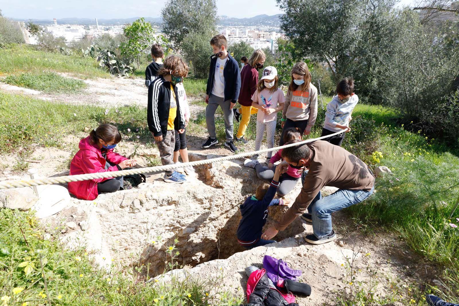 Una cantera de arqueólogos
