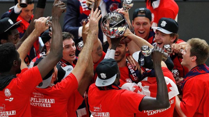 Kirolbet dejará de dar nombre al Baskonia tras ganar la ACB