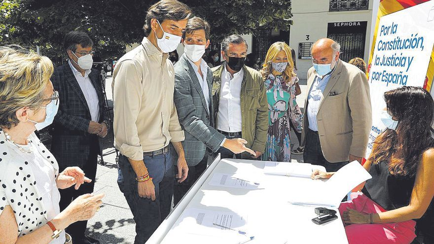 Azcón y Pérez Calvo protestarán contra el indulto y el PAR renuncia a Colón