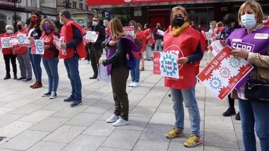 CC OO y UGT avanzan una manifestación por el 1 de mayo