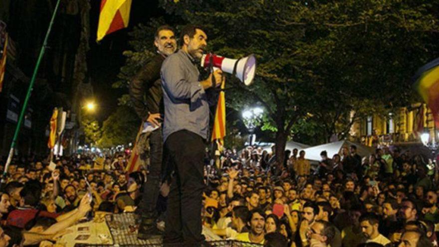 'Sense Ficció' de TV3 estrena el documental '20-S' sobre la mobilització davant d'Economia