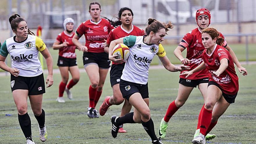 Doblete de Les Abelles y liderato del Rugby Turia