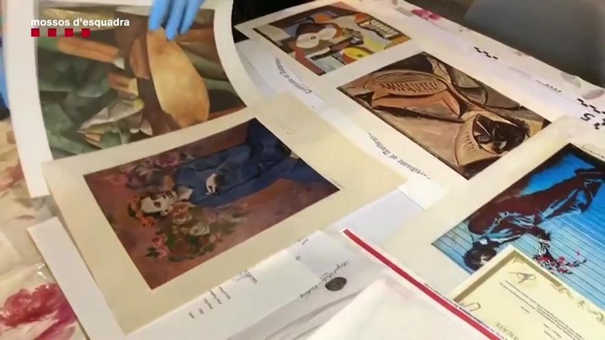 Detenido en València un hombre que vendía obras de arte falsas por internet
