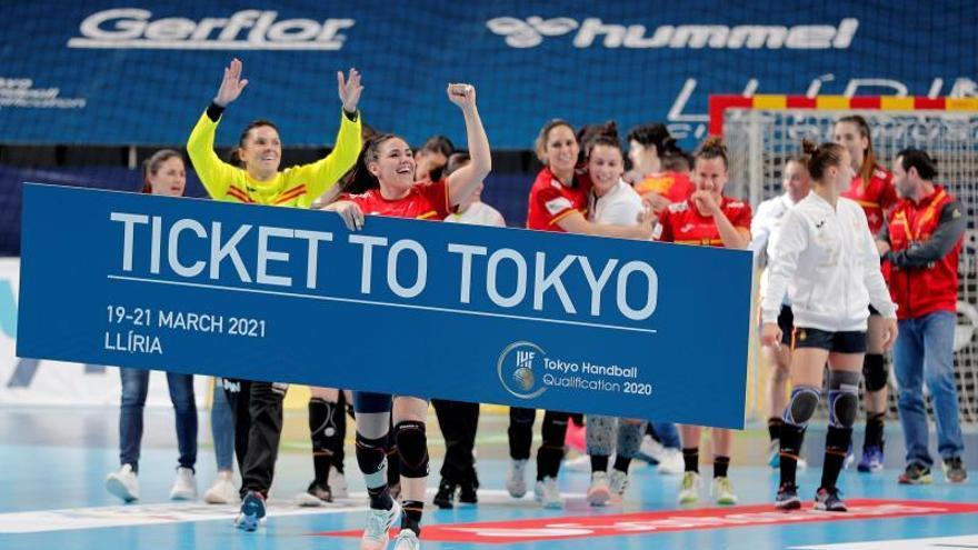 Las «Guerreras» atan su tercer billete olímpico consecutivo