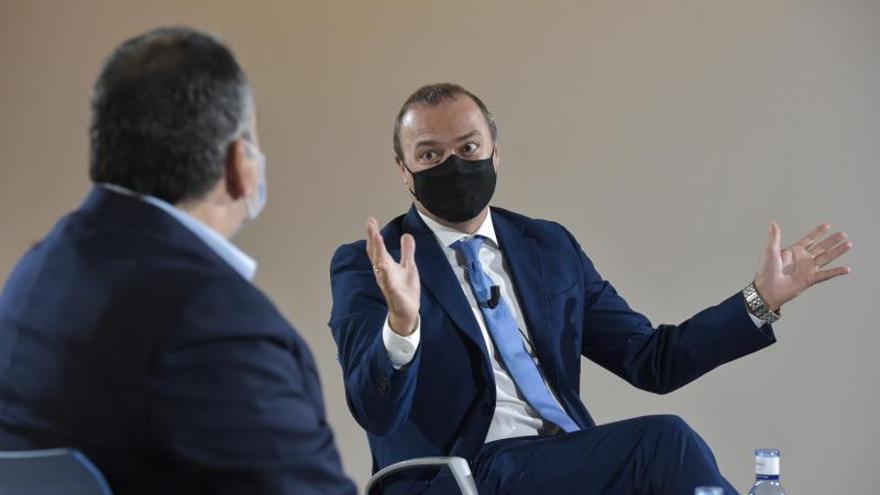 """Augusto Hidalgo: """"El comportamiento de la ciudadanía ha sido ejemplar durante la pandemia"""""""