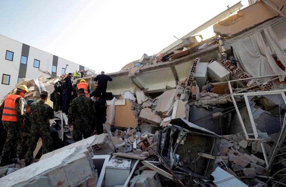 Albània pateix un terratrèmol de 6,4 graus a l'escala de Richter