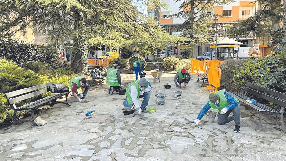 El plan Remonta emplea a un centenar de trabajadores solo en la ciudad de Jaca.