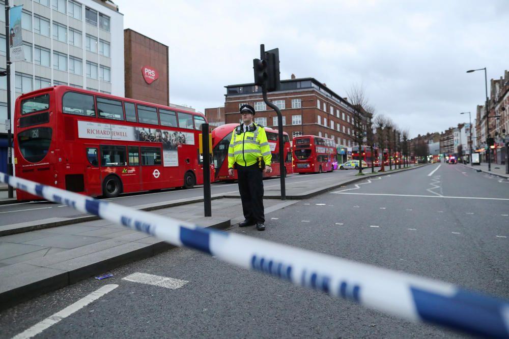 Imatges de l''atac terrorista a Londres