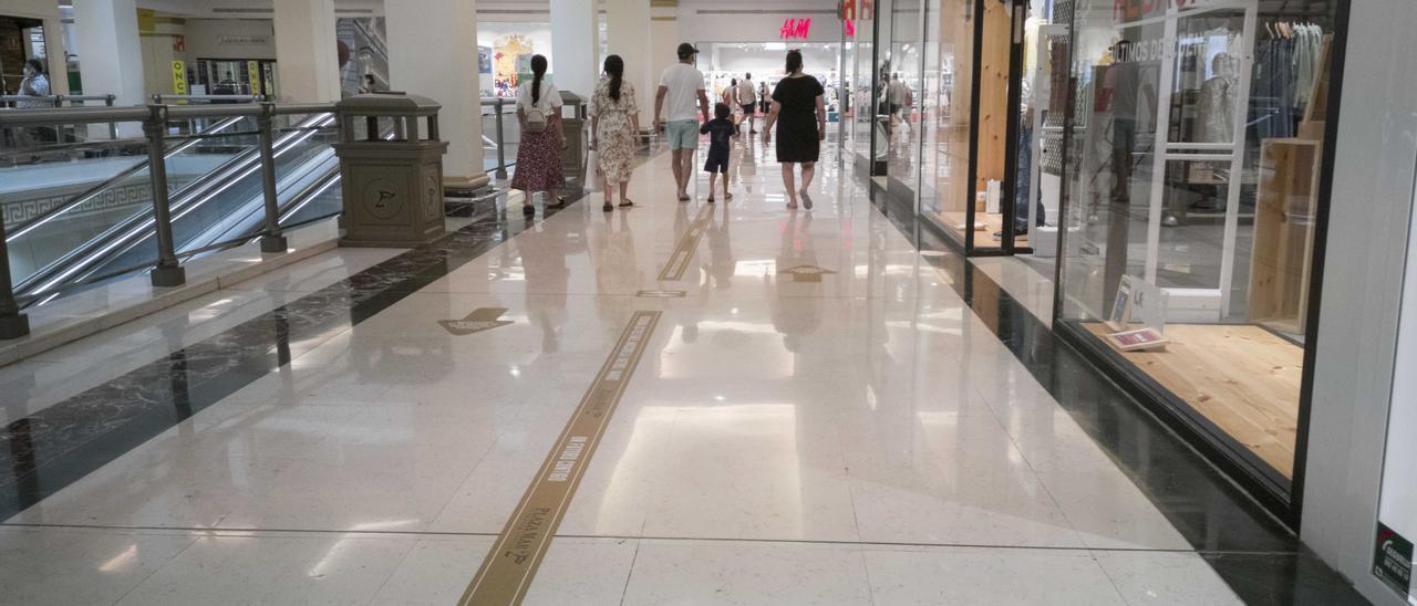 La tienda de H&M en Gran Vía es una de las afectadas